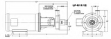 Ampco LX-R11/12 Centrifugal Pump Assembly (1 - 3 HP)