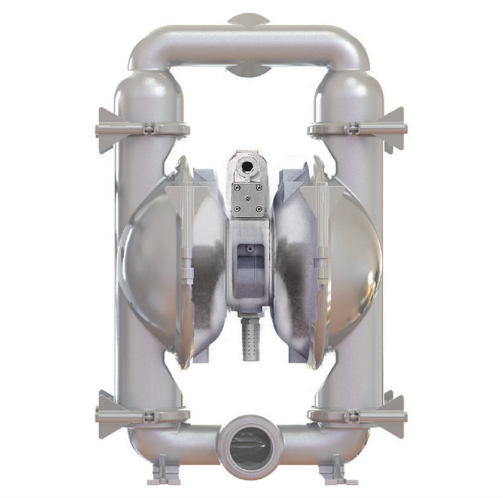 "Standard ""Pure Pump"" FDA Compliant Stainless Steel Pumps"