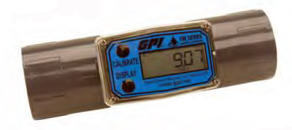 TM Series PVC Water Meters with Computer Display