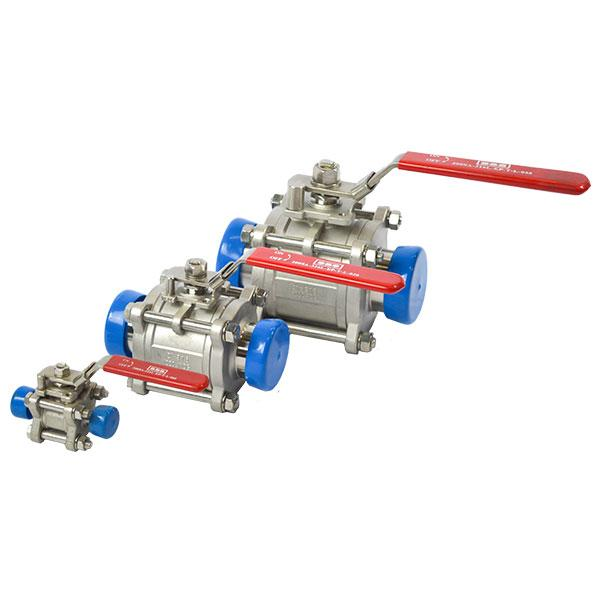 Sanitary Full Bore Ball Valves