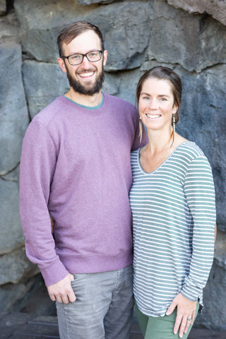 Sarah Frost-McKee and Paul Trendler of Super Belly Ferments