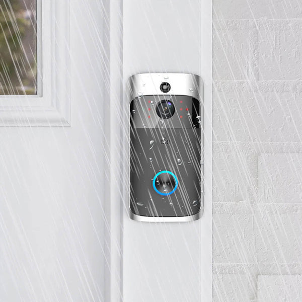 SmartViewX™ Smart Video Doorbell With Security Camera - Completely Rain-Proof