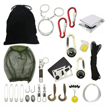 18-In-1 Survival Gear Emergency Preparedness Kit