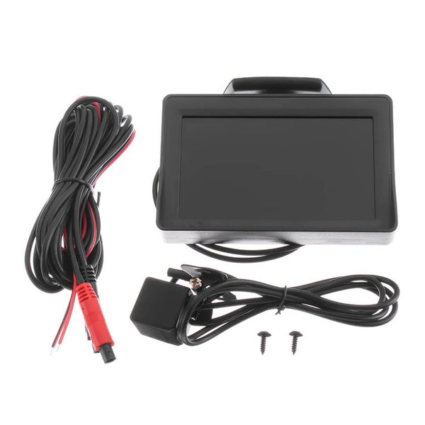 Backup Rearview Camera LCD Monitor With Night Vision