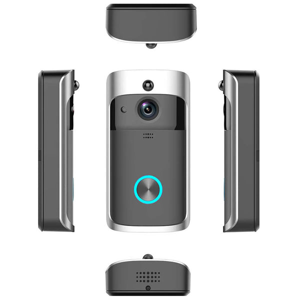 SmartViewX™ Smart Video Doorbell With Security Camera - All Angles