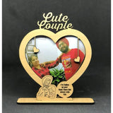 VALENTINE WEEK SPECIAL CUTE COUPLE PHOTO FRAME