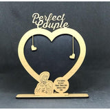"VALENTINE WEEK SPECIAL CUTE COUPLE PHOTO FRAME ""SIKH COUPLE"" EDITION"