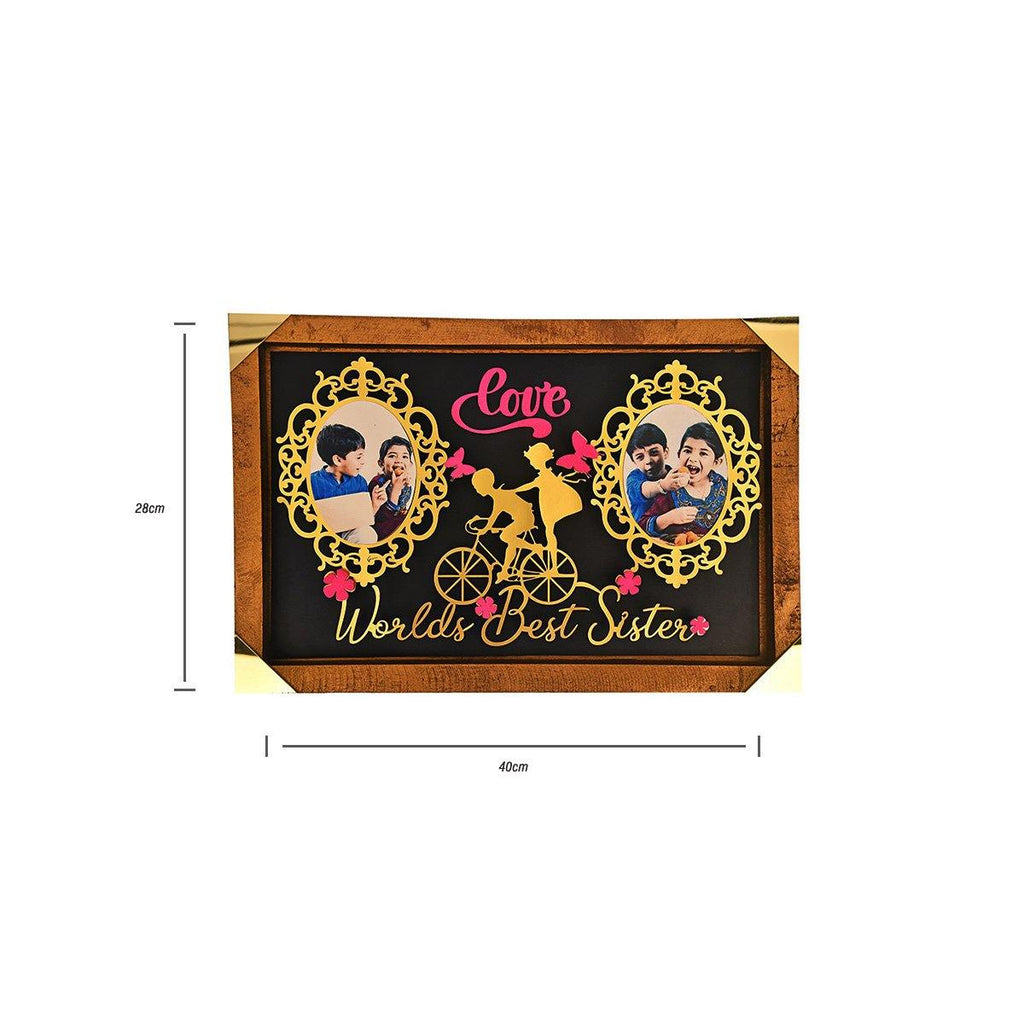 PERSONALIZED World's Best Brother Photo Stand