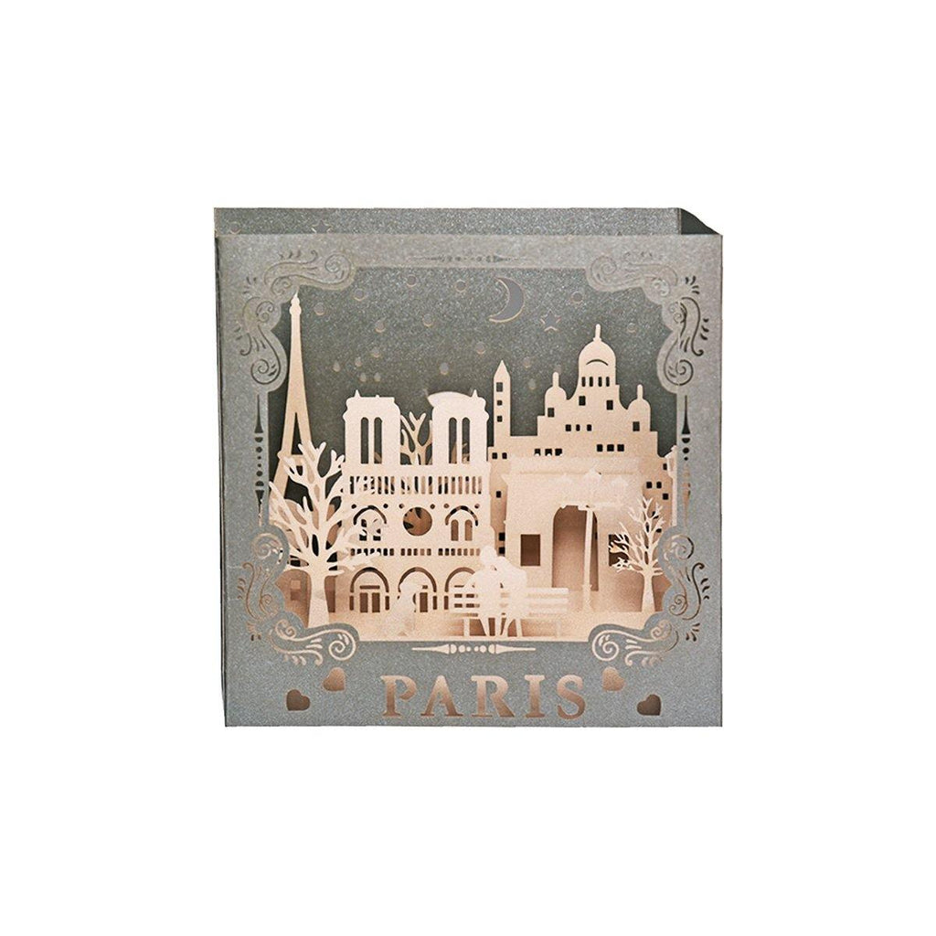 Paris 3d Pop Up card and Showpiece