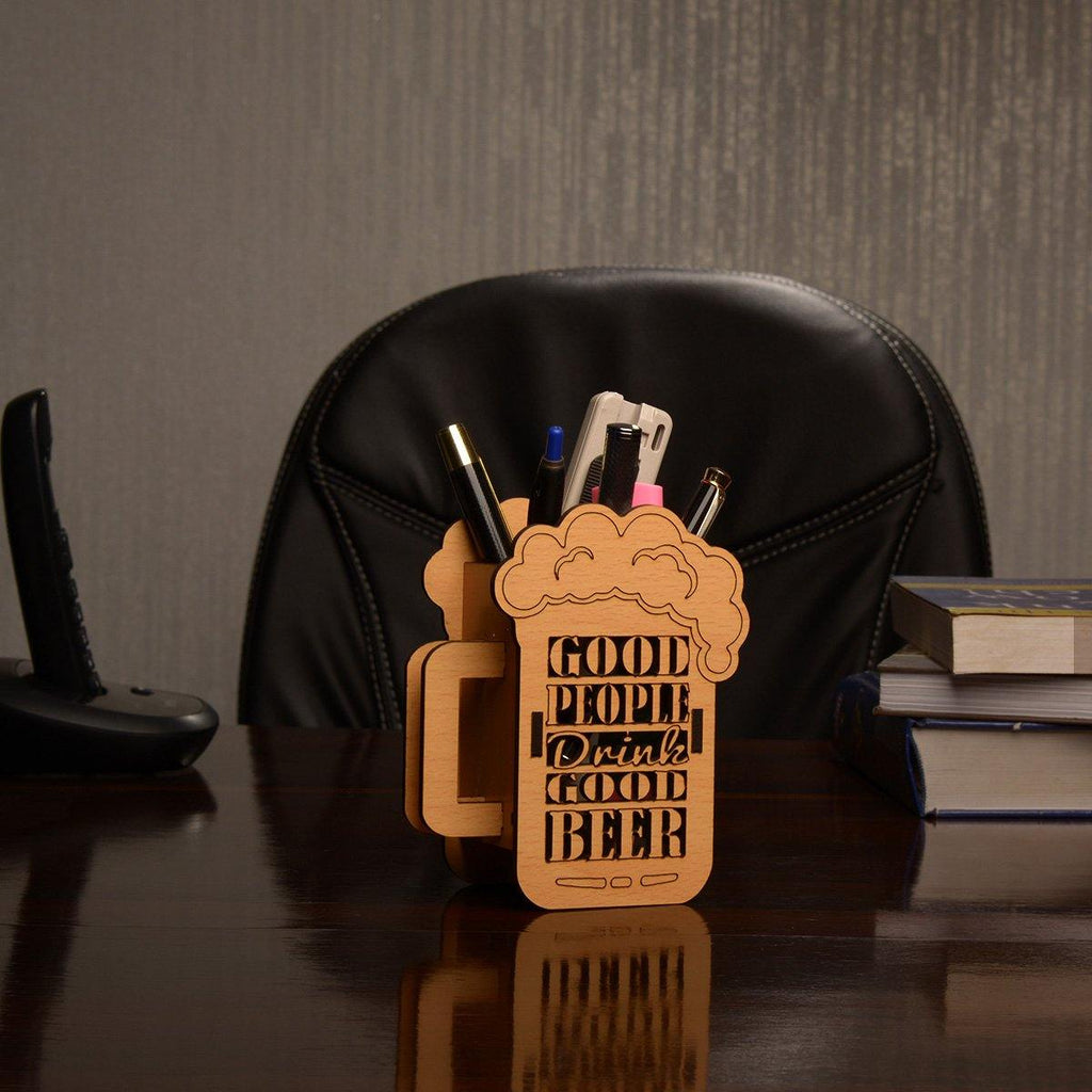 BEER MUG STYLE PEN HOLDER - Gift Kya De