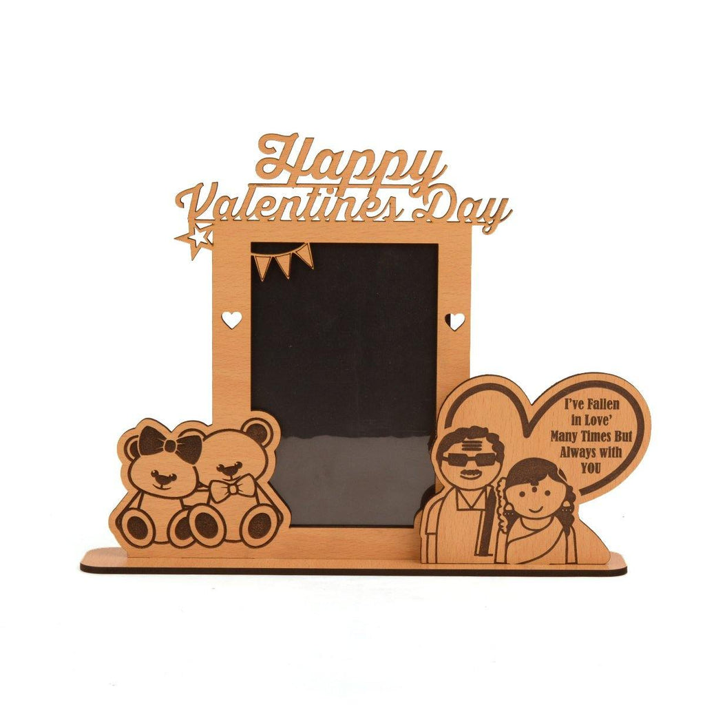 "VALENTINE WEEK SPECIAL PHOTO FRAME ""SOUTH INDIAN"" EDITION - Gift Kya De"