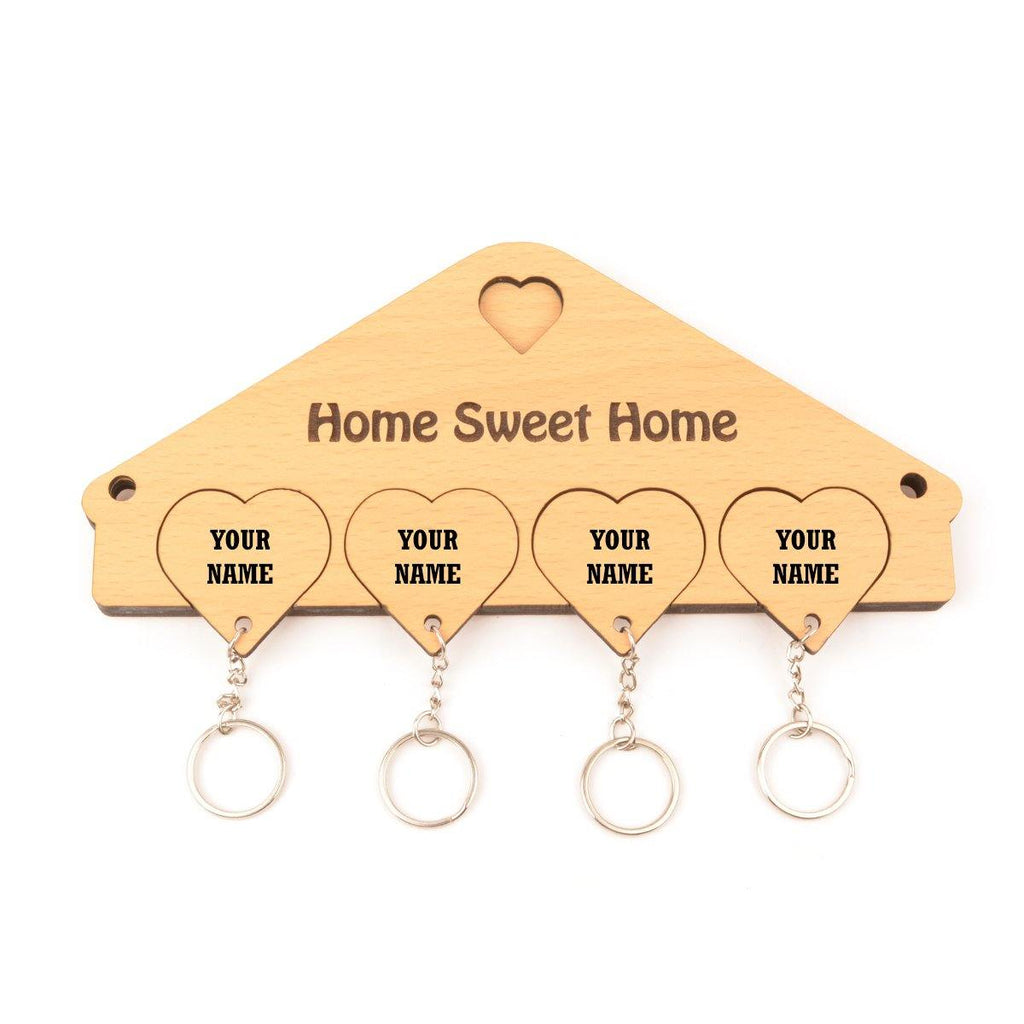 CUSTOMIZED HEART SHAPE KEY HOLDER