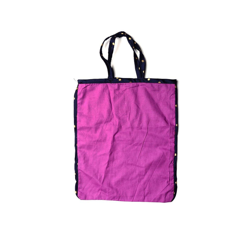 Cloth Carry Bag Made By Women Self Help Groups ( Pack Of 5 )