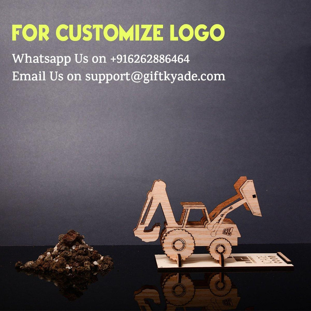 PERSONALIZED  JCB Mobile Stand - Table Top