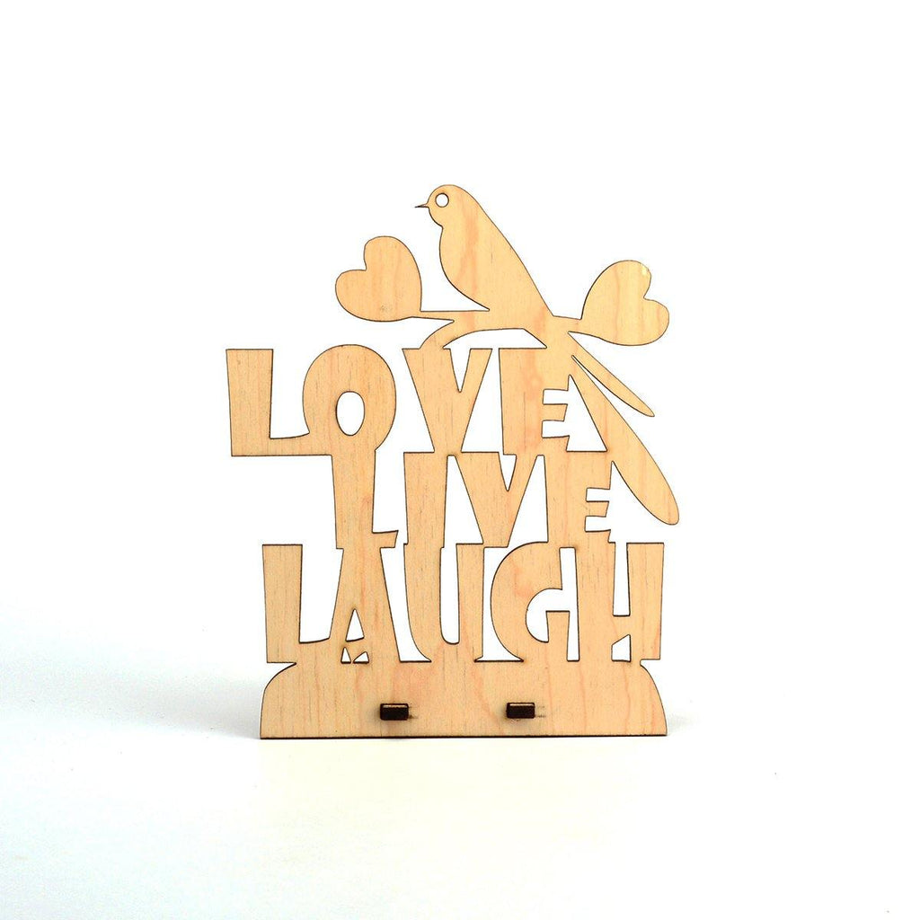 LOVE LIVE LAUGH - Table Top - Gift Kya De