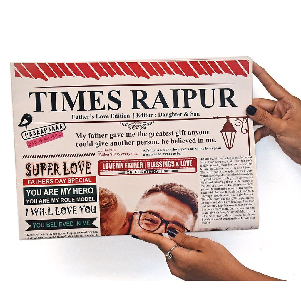 PERSONALIZED MAGAZINE FOR DAD - Gift Kya De
