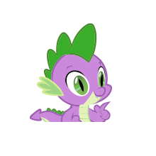 MLP Spike The Dragon