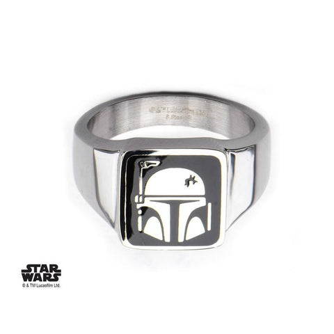 star wars boba fett helmet ring