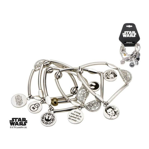 star wars episode 7 lead hero rey stretchable bracelet