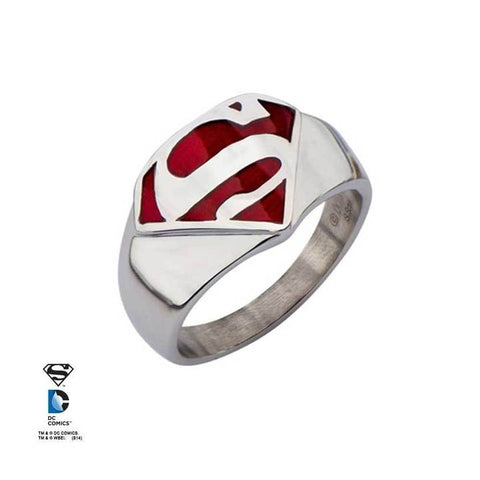 dc comics superman red ring