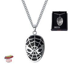 Spider-Man Black Face Necklace