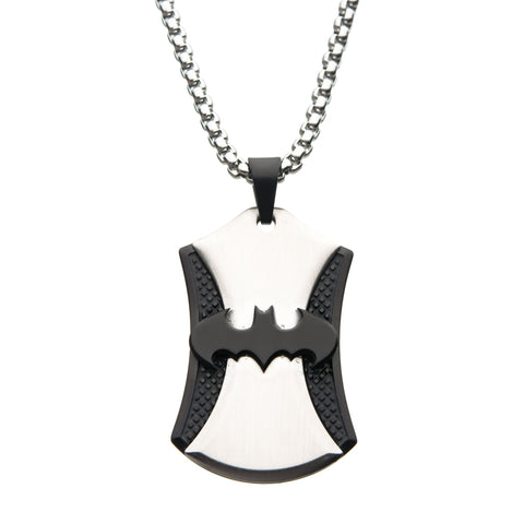 DC Comics Batman Dog Tag Pendant Necklace