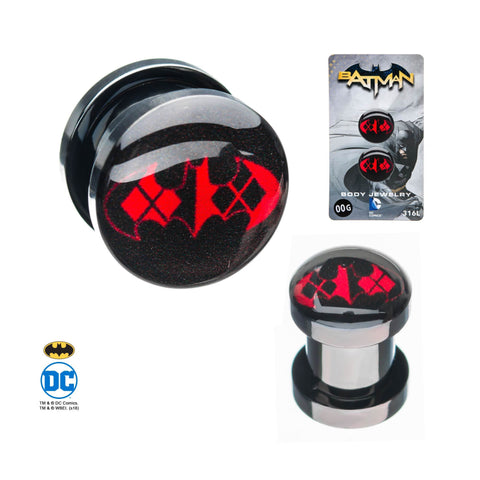 DC Comics Batman Harley Quinn Screw Fit Plug
