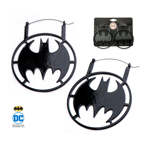 DC Comics Batman Plug Hoop Earrings
