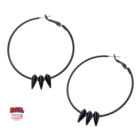 Marvel Black Panther Claw Hoops Earrings