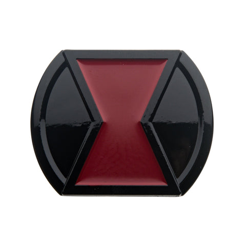 Marvel Black Widow Belt Buckle Lapel Pin