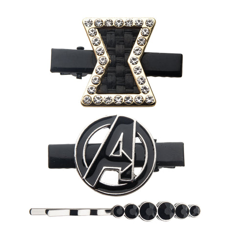 Marvel Black Widow Hair Clips Set