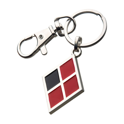 DC Comics Birds of Prey Harley Quinn Symbol Key Chain