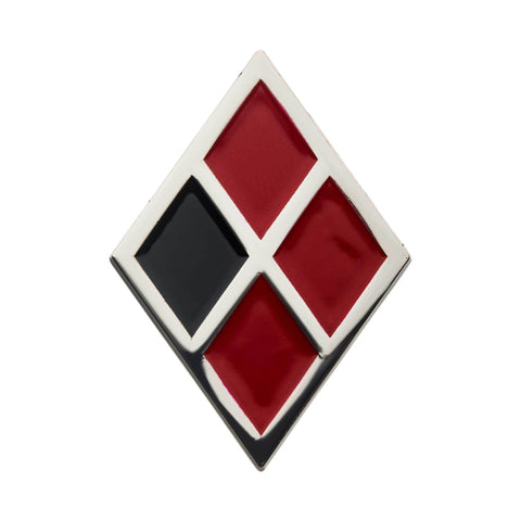 DC Comics Birds of Prey Harley Quinn Symbol Lapel Pin