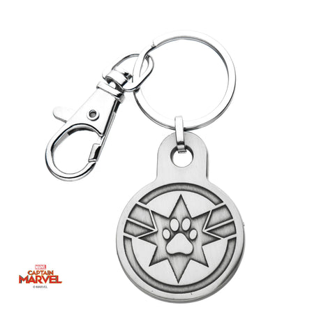 Captain Marvel Goose Key Chain