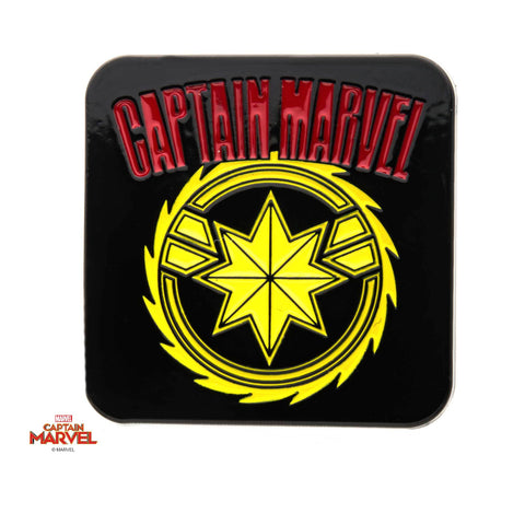 Captain Marvel Red/Yellow Enamel Pin