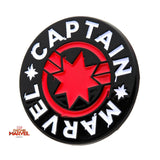 Captain Marvel Red/White Enamel Pin