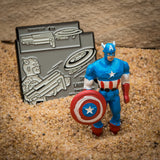 Marvel Captain America 3D 80th Year Lapel Pin Set
