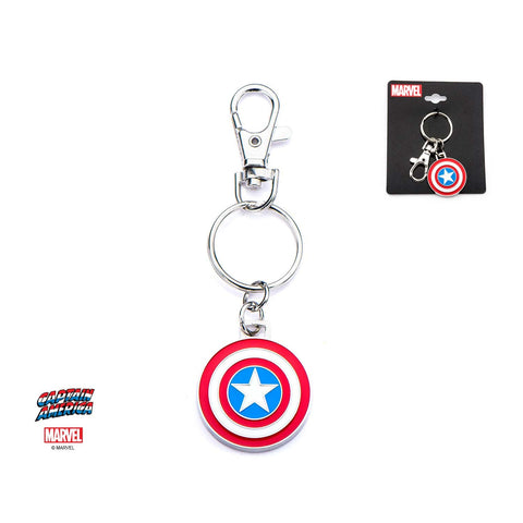 Marvel Captain America Shield Logo Key Chain