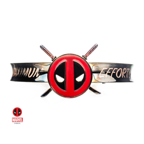 Marvel Deadpool Logo Bangle Bracelet