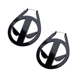 Marvel Deadpool Plug Hoops Earrings