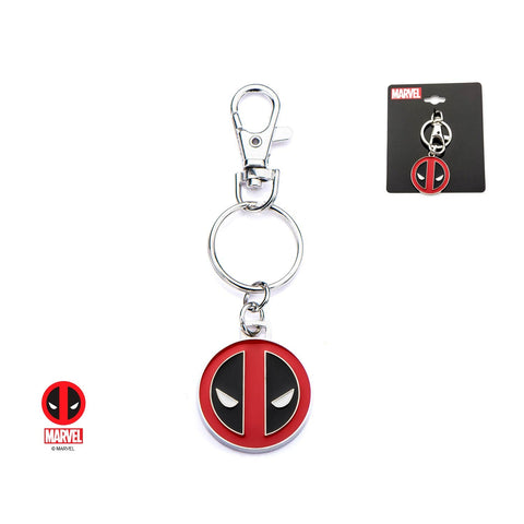Marvel Deadpool Logo Key Chain