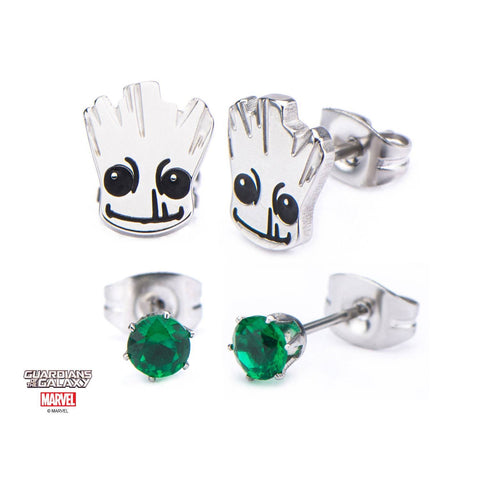 Marvel GOTG Groot Stud Earrings Set (2pcs)