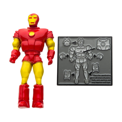 Marvel Iron Man 3D 80th Years Lapel Pin Set