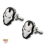 Marvel Iron Man Face Cufflinks