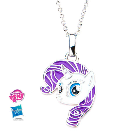 My Little Pony Rarity Pendant Necklace