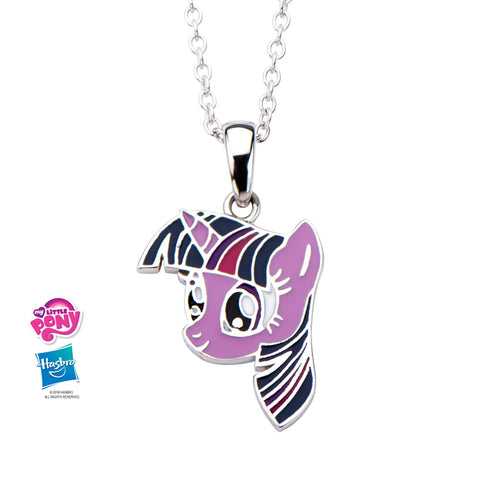 My Little Pony Twilight Sparkle Kids Pendant Necklace