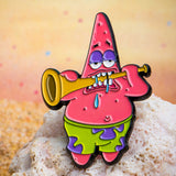 Nickelodeon Patrick Playing the Trumpet Lapel Pin