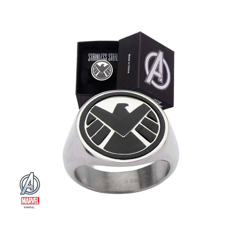 Marvel S.H.I.E.L.D Logo Ring