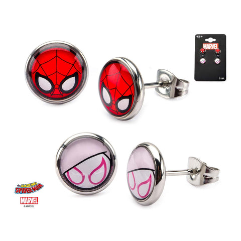 Marvel Spider-Gwen Stud Earrings Set (2pcs)