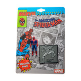 Marvel Spider-Man 3D 80 Years Lapel Pin Set